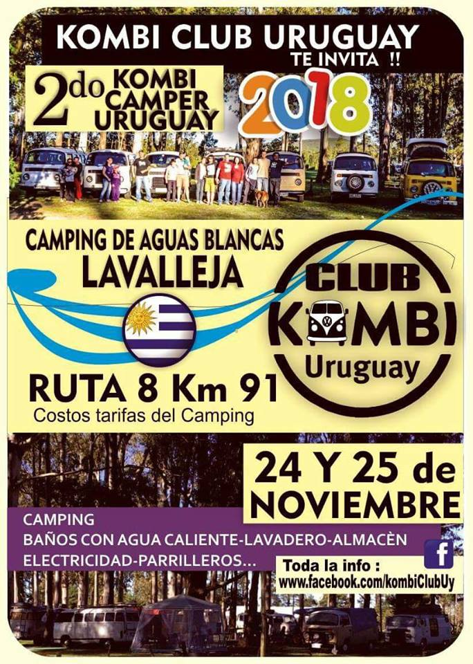 kombi club uruguay re invita