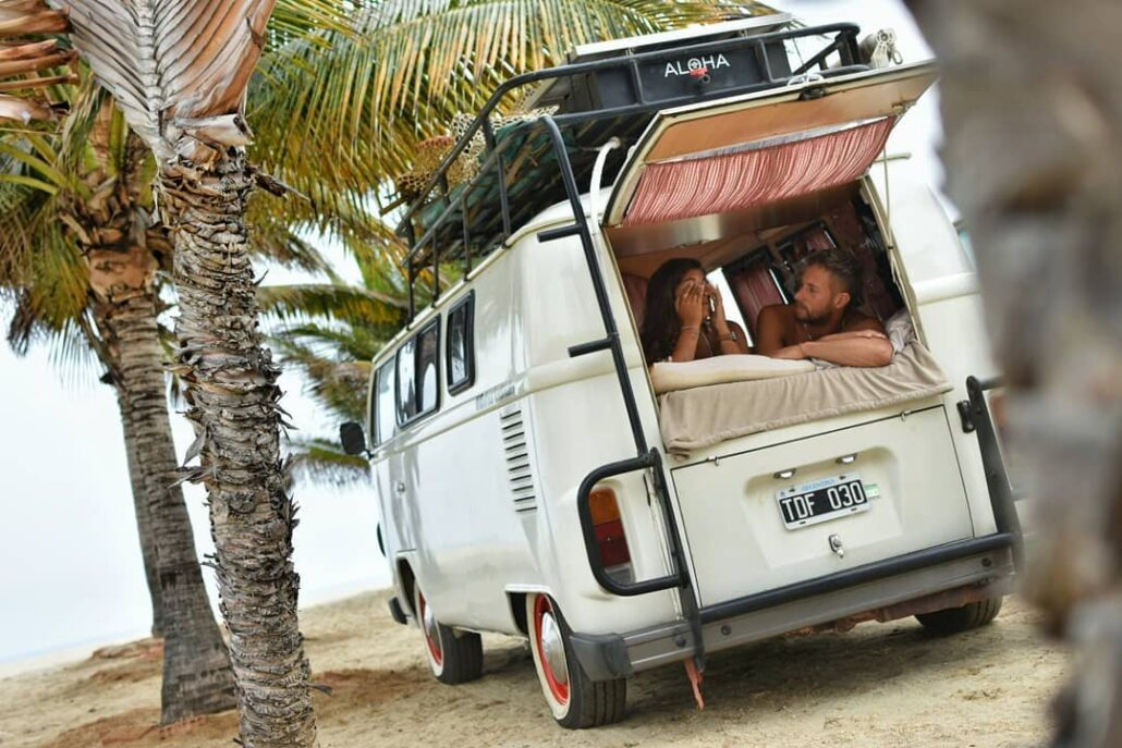 VW bus, Home