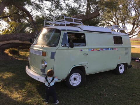 header image of VW Bus parked up during quarantine.