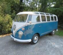 70 Years of the T1 Samba VW Bus