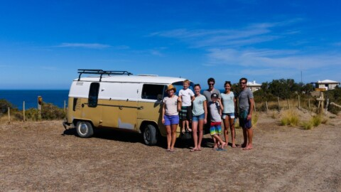Odyssées d'Architectures Travel Argentina in a VW Bus